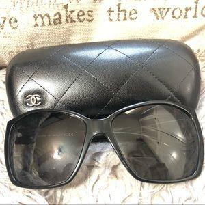 CHANEL Glitter Lenses Sunglasses